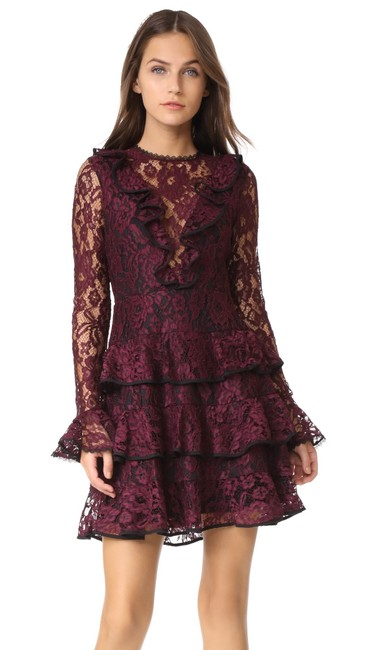 Preload https://img-static.tradesy.com/item/25581536/alexis-burgundy-tracie-long-sleeves-lace-short-night-out-dress-size-14-l-0-0-650-650.jpg
