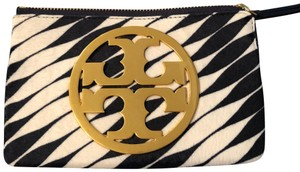 Tory Burch Wristlet in blue and white