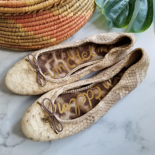 Preload https://item2.tradesy.com/images/sam-edelman-oretails-for-oa-delicate-logo-charm-adorns-the-bow-trimmed-toe-of-a-charming-ballet-olea-25581621-0-1.jpg?width=440&height=440
