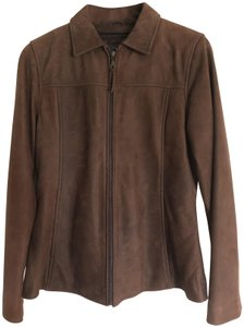 Wilsons Leather Insulation 3m Notch Collar brown Leather Jacket