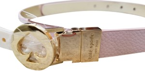 Kate Spade Kate Spade Pink Leather Reversible Belt