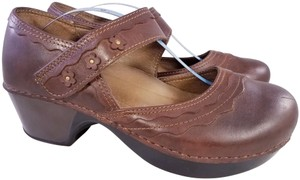Dansko Mary Janes Woman Size 39 BROWN Mules