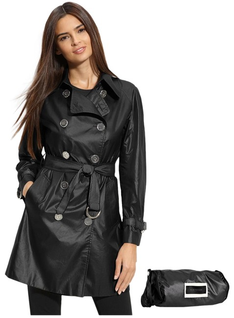 Item - Black Lily Packable Trench Coat Size 2 (XS)