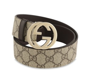 Gucci GG Supreme Belt With Double G Buckle