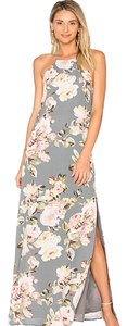 gray Maxi Dress by Privacy Please