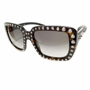 Prada BRAND NEW PRADA ABSOLUTE ORNATE SQUARE OVERSIZED STUDDED SUNGLASSES