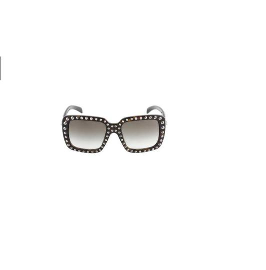 Prada BRAND NEW PRADA ABSOLUTE ORNATE SQUARE OVERSIZED STUDDED SUNGLASSES Image 1