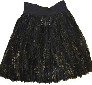 Moschino Mini Lace Women's Mini Skirt Black