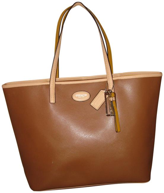 Item - Park Metro Handbag Brown Leather Tote