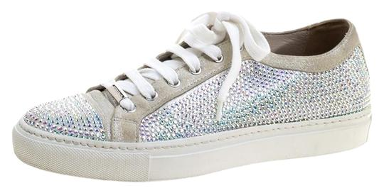 Preload https://img-static.tradesy.com/item/25584313/le-silla-grey-crystal-embellished-suede-lace-up-sneakers-flats-size-eu-37-approx-us-7-regular-m-b-0-1-540-540.jpg