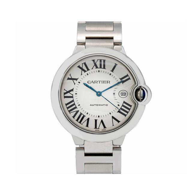Item - White Ballon Bleu 42mm W69012z4 Dial with Stainless Steel Watch