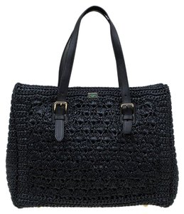 Dolce&Gabbana Leather Tote in Black
