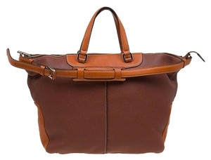 Tod's Leather Tote in Brown