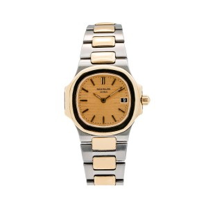 Patek Philippe Patek Philippe Nautilus 4700 24MM Champagne Dial With Two Tone