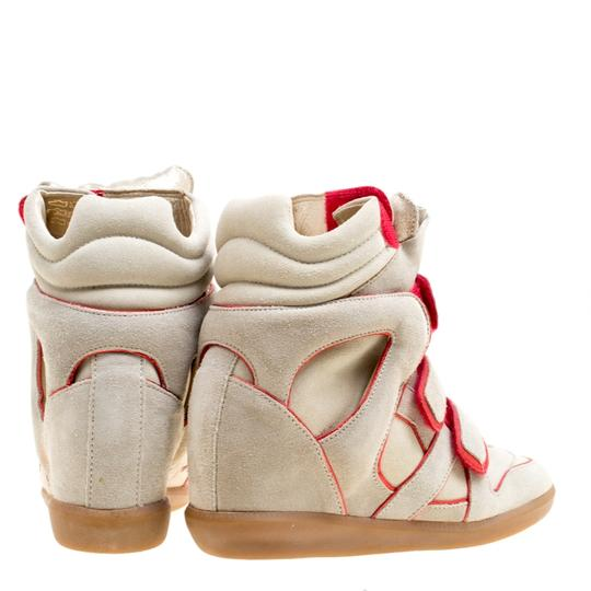 Isabel Marant Suede Leather Rubber Grey Wedges Image 2