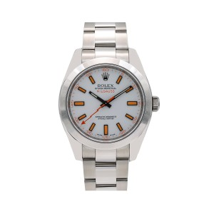 Rolex Rolex Milgauss 116400 40MM White Dial With Stainless Steel Oyster