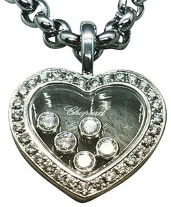 Chopard Chopard Happy Diamonds White Gold Necklace