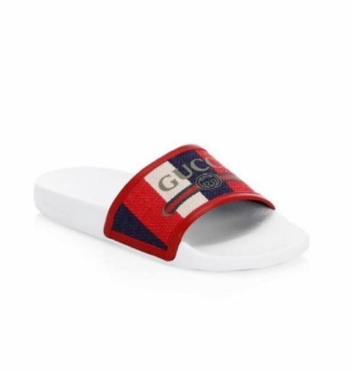 Gucci Blue/Red Sandals Image 1