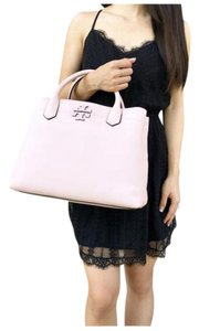 Tory Burch Womens Leather Satchel in Pink