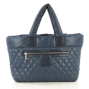 Chanel Coco Cocoon Tote in blue