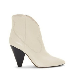 Vince Camuto Leather White / Ivory / Cream Boots
