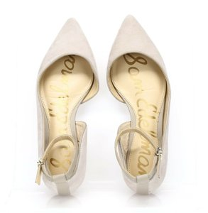 Sam Edelman Pointed Toe Cream Flats