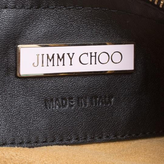 Jimmy Choo Leather Studded Tote in Black Image 7