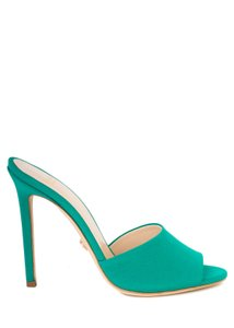 Versace green Pumps