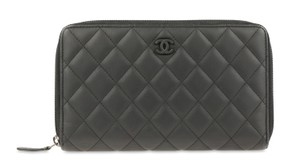 Chanel Quilted Large Wallet