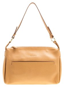 Loewe Leather Nylon Shoulder Bag