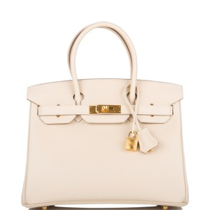 Hermès Satchel in Ivory