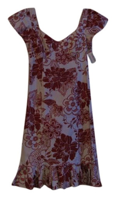 Preload https://item1.tradesy.com/images/teri-jon-white-and-red-floral-print-rickie-freeman-knee-length-short-casual-dress-size-4-s-255860-0-0.jpg?width=400&height=650