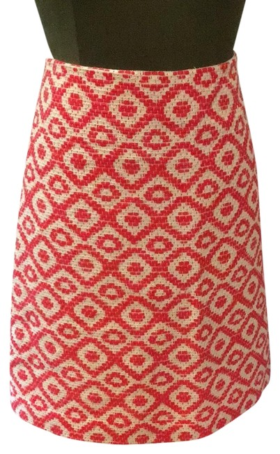 Item - Wire and Red Skirt Size 14 (L, 34)