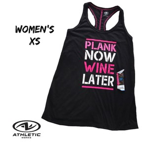 Athletic Works Top black
