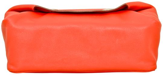 Hermès Hermes Red Swift Leather Be Bop Accessory Cosmetic Pouch Image 1