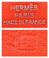 Hermès Hermes Red Swift Leather Be Bop Accessory Cosmetic Pouch Image 10
