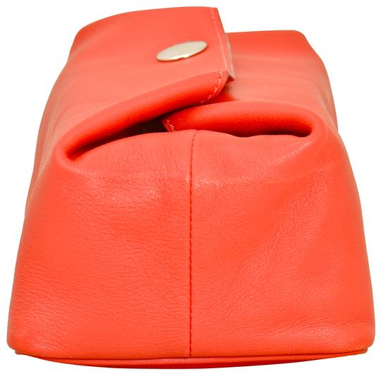 Hermès Hermes Red Swift Leather Be Bop Accessory Cosmetic Pouch Image 2