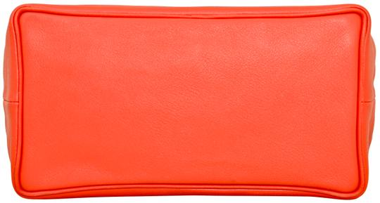 Hermès Hermes Red Swift Leather Be Bop Accessory Cosmetic Pouch Image 5