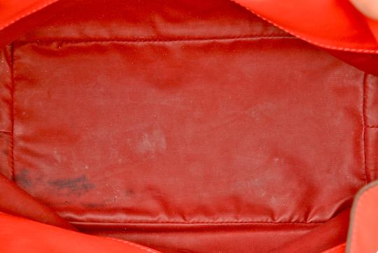Hermès Hermes Red Swift Leather Be Bop Accessory Cosmetic Pouch Image 8