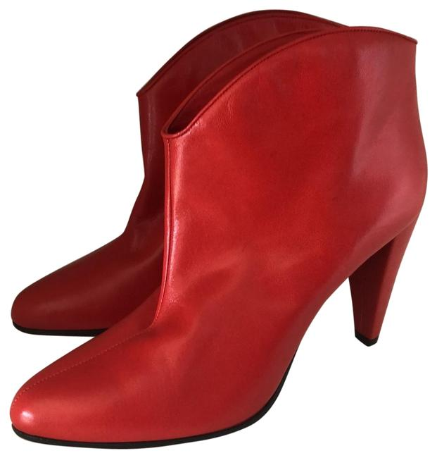 Céline Bright Red Rancher Boots/Booties Size EU 37 (Approx. US 7) Regular (M, B) Céline Bright Red Rancher Boots/Booties Size EU 37 (Approx. US 7) Regular (M, B) Image 1
