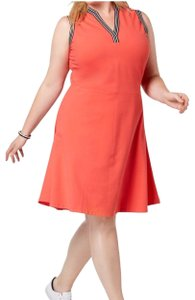 Tommy Hilfiger short dress Orange on Tradesy