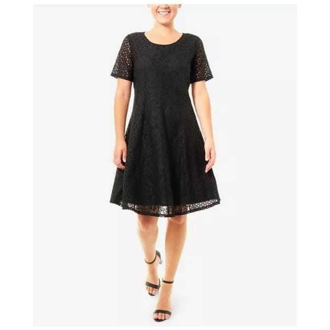 Preload https://img-static.tradesy.com/item/25586925/ny-collection-black-lace-fit-and-flare-short-workoffice-dress-size-petite-12-l-0-0-650-650.jpg