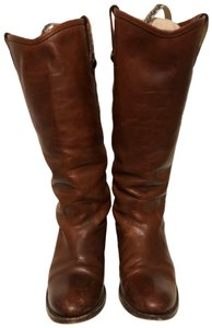 d4dcad2939f Frye Brown Melissa Button 2 Boots/Booties Size US 6.5 Regular (M, B) 42%  off retail