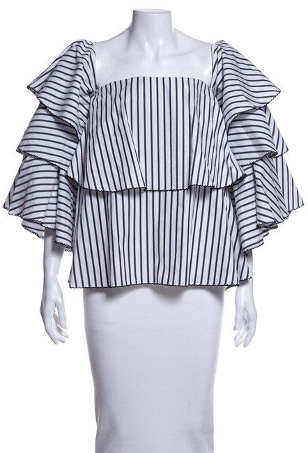 Preload https://img-static.tradesy.com/item/25586982/caroline-constas-multicolor-black-and-white-blouse-size-12-l-0-1-650-650.jpg