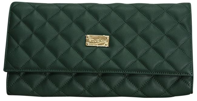 Item - Emerald Green Leather Clutch