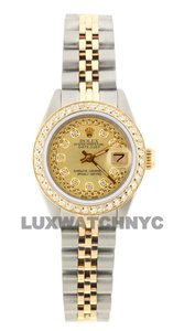 ROLEX 1.8ct 26mm LADIES Datejust GOLD AND STAINLESS STEEL WTH APPRAISAL