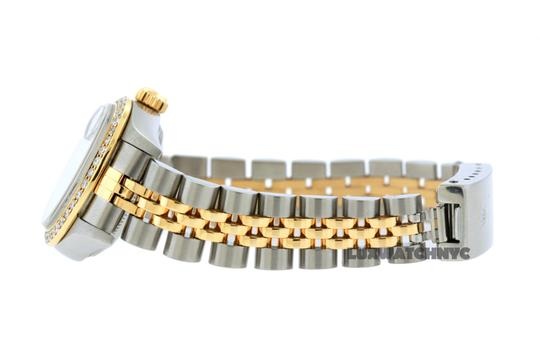 ROLEX 1.8ct 26mm LADIES Datejust GOLD AND STAINLESS STEEL WTH APPRAISAL Image 2
