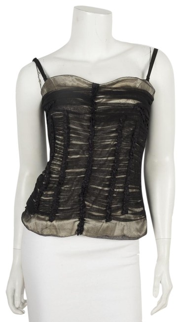 Preload https://img-static.tradesy.com/item/25587147/dolce-and-gabbana-dolce-and-gabbana-nude-bustier-42-black-top-0-1-650-650.jpg