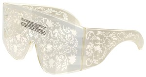 KTZ LINDA FARROW KTZ Mask White Ivory Filigree KTZ4