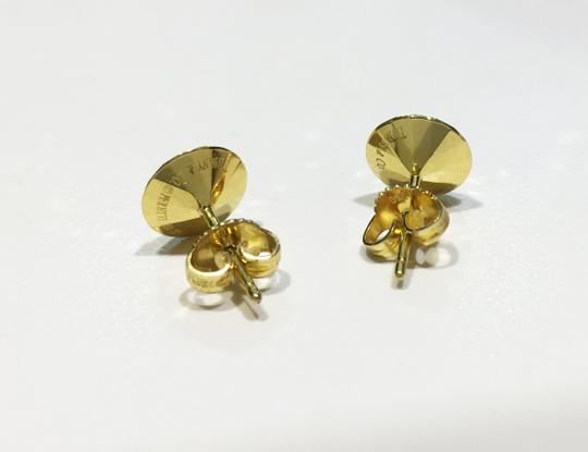 Tiffany & Co. Elsa Peretti Stud 18K Yellow Gold Earrings Image 1